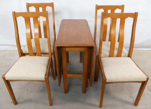 Light Teak Dining Suite by Meredew